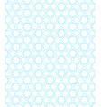 abstract hexagon pattern vector image