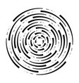 abstract radial background concentric ripple vector image vector image