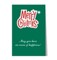 Banner Christmas card templates Posters vector image vector image