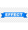 blue tape with effect caption vector image vector image