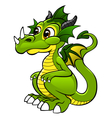 cute dragon vector image