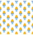 Egg pattern seamless vector image