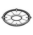 life preserver icon image vector image vector image