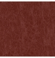 Realistic leather texture vector image vector image