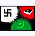 religious symbol vector image vector image