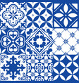 spanish tiles moroccan tiles design seamless vector image