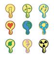 energetic ideas vector image