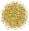gold foil glitter texture isolated vector image