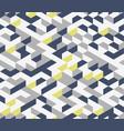 gray irregular abstract geometric seamless vector image vector image