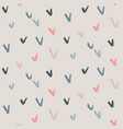 hand drawn ink seamless pattern endless vector image