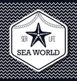 sea world life isolated vector image