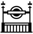 subway solid vector image