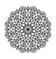 Coloring Book Mandala vector image
