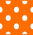 fresh apricot pattern seamless vector image vector image