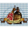 Octoberfest RGB vector image vector image