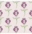 pink spring or summer seamless pattern vector image vector image