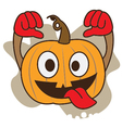 Pumpkin Crazy vector image
