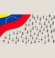 venezuelan independence anniversary celebration vector image vector image