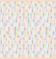 abstract pastel pattern vector image vector image