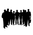 group of people vector image vector image