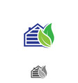 home leaf vector image vector image