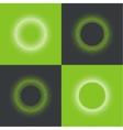 round banner pixels vector image vector image