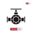 valve icon vector image