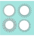 vintage lace frames vector image vector image