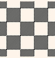 black and white checkered seamless texture vector image vector image