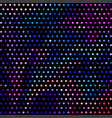 colorful dots background vector image