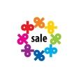 logo sale vector image