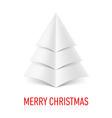 MERRY CHRISTMAS Corner paper 09 vector image vector image