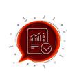 report document line icon checklist