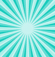 Retro Blue Star Shaped Background vector image vector image