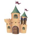 A castle vector image