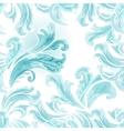 abstract frozen ice texture on winter window vector image vector image