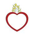Catholic sacred heart symbol