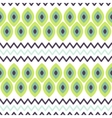 Ethnic tribal scale seamless pattern vector image vector image