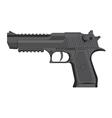 Handgun in grey color