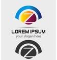 Letter Z Logo Design Creative Symbol of letter Z vector image vector image