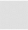 seamless black line geometric diamond pattern vector image