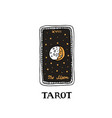 tarot card major arcana vector image vector image