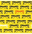 Yellow sunglasses background vector image vector image