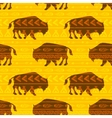 bison vector image vector image