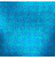 Blue abstract background with tiny squares vector image vector image