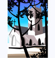 church vector image vector image