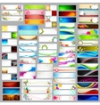Colorful banner jumbo collection vector image