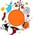 Halloween card vector | Price: 3 Credits (USD $3)