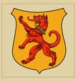 Heraldic beast vector image vector image
