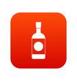 japanese sake icon digital red vector image vector image